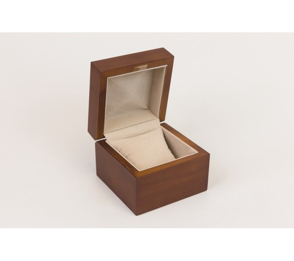 "Watch Box 3 7/8"" x 3 7/8"" x 3"" H"