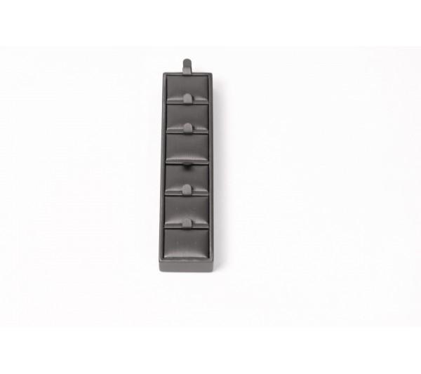 "Steel Grey Earring  insert  Display ---- 1 11/16"" x6 5/16"" x 13/16"" H"