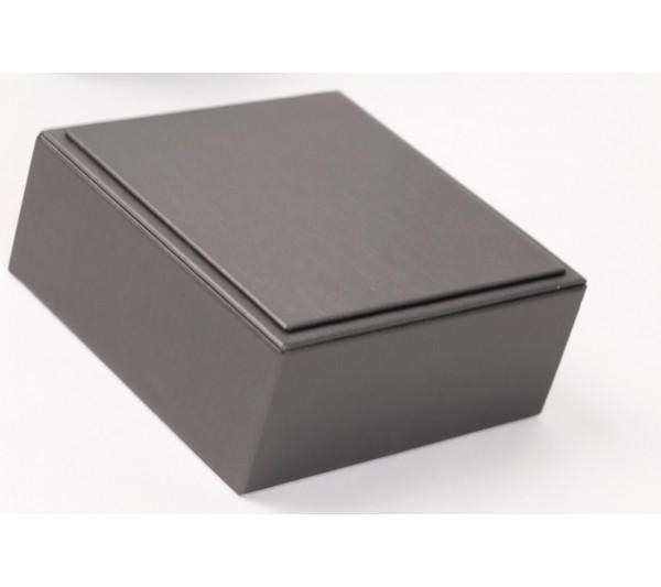 "Steel Grey Riser, 4 1/2"" x 4 1/2"" x 1 3/4""  H"