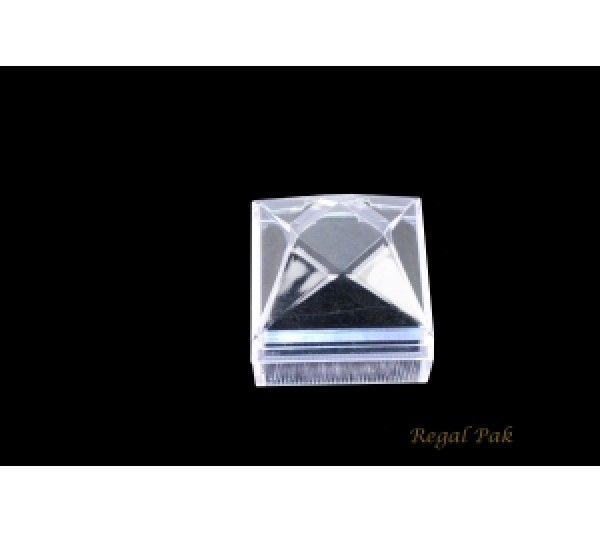 "Monaco Collection Crystal Earring Box  1-7/8"" X 1-7/8"" X 1-7/8""H [ 24 PCs in a Pack]"