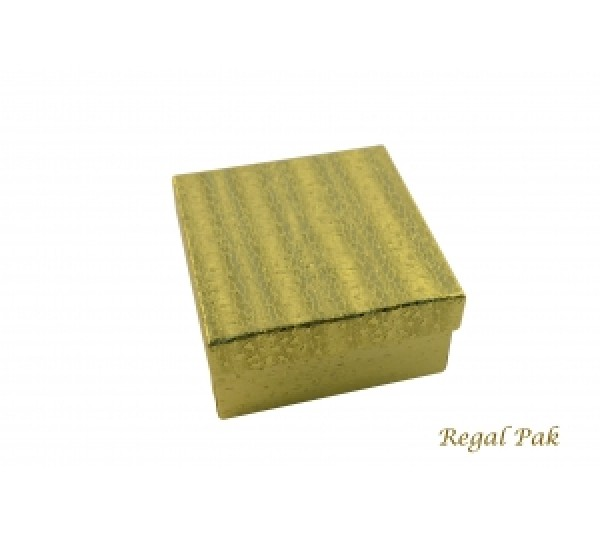 Gold Cotton Filled Box 3 3/4