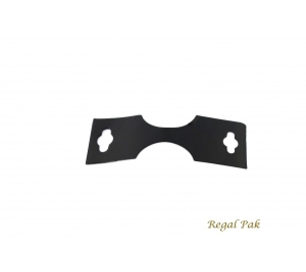"Black Necklace/Bracelet Cards (100 Pieces In A Pack) 1 3/8"" X 1 3/4"""
