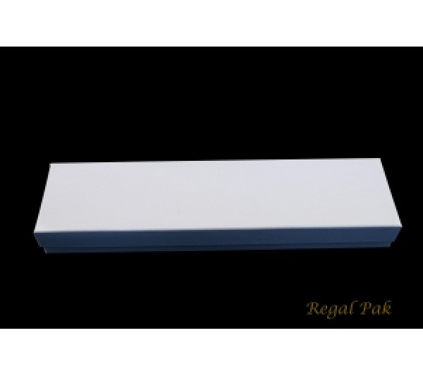 Glossy White  Cotton Filled Paper Box 8