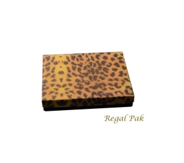 Leopard Cotton Filled Box 6 1/8