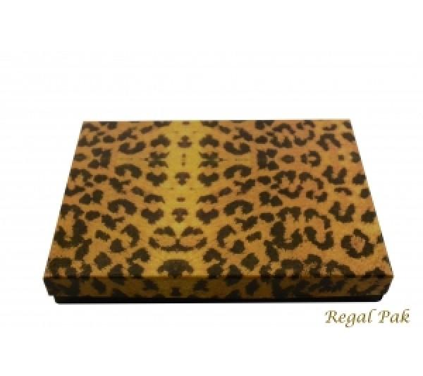 Leopard Cotton Filled Box 7 1/8
