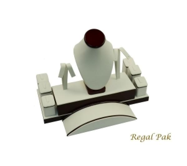 "Rosewood Mini Display Set (23-Ring) 12"" X 7-1/4"" X 4-3/8""H"