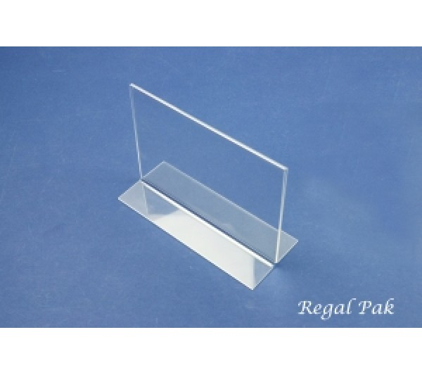 "Acrylic Sign Holder 7"" X 5""H"