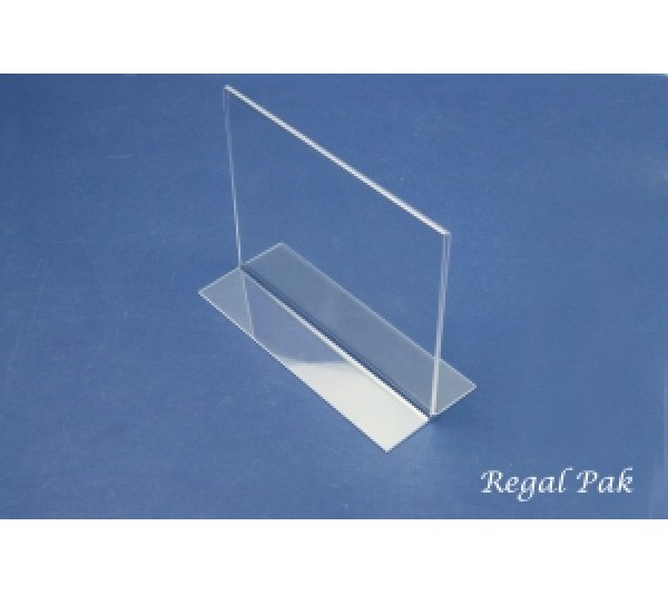 "Acrylic Sign Holder 7"" X 5 1/2""H"