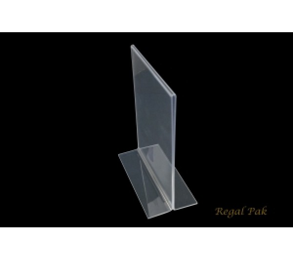 "Acrylic Sign Holder 5 1/2"" X 7""H"