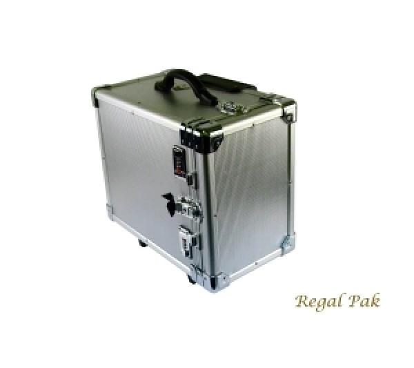 """Aluminum Case Side-Open W/Handle 16-3/8"""" X 9-3/8"""" X 13-1/2""""H"""