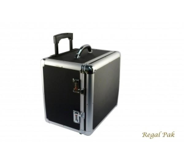 "Aluminum Case Front Open With Handle 16-3/8"" x 11-1/2"" x 15-1/2""H"