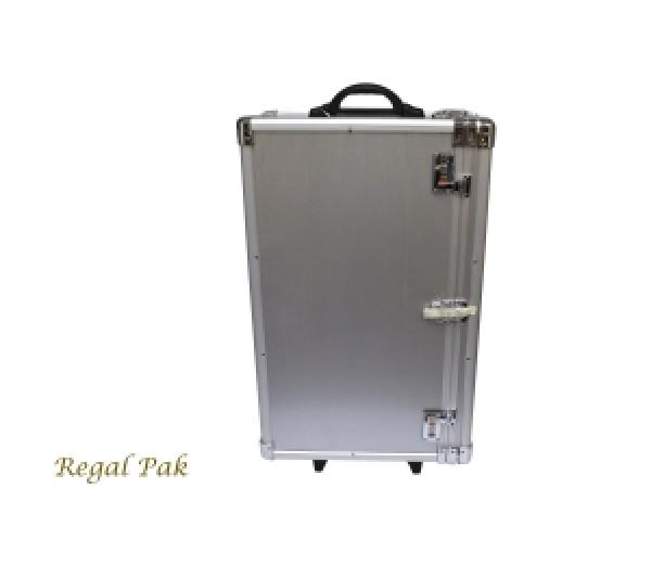 """Aluminum Case Side-Open W/Handle 16-3/8"""" X 9-3/8"""" X 26""""H"""