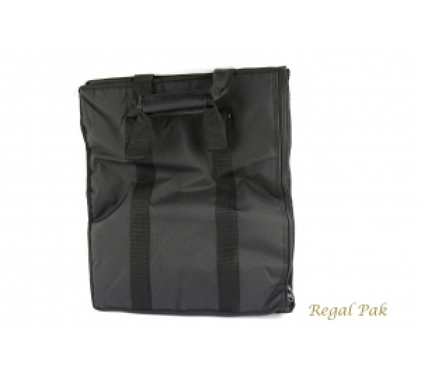 """Leatherette Soft Carrying Case 16"""" X 9"""" X 19""""H"""