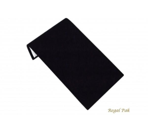 "Medium Black Velvet Bracelet Display Ramp 8"" X 4 3/4"" X 2""H"