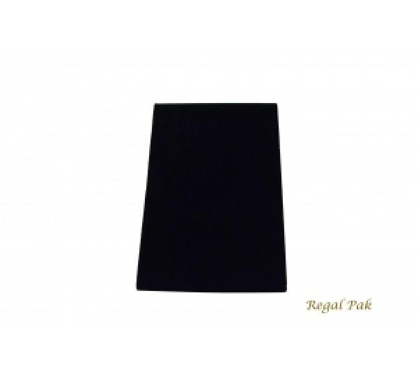 """Large Black Velvet Bracelet Standing Ramp With Easel 4 3/4"""" X 5"""" X 7 3/8""""H"""