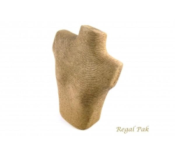 "Linen Look Polystyrene Figure Display 10""W X 11""H X 3""D"