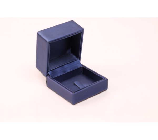 "Steel Blue /Royal Blue  Clip Ring Box, 2 5/8""( L) x 2 5/8""( W) x 2"" H"
