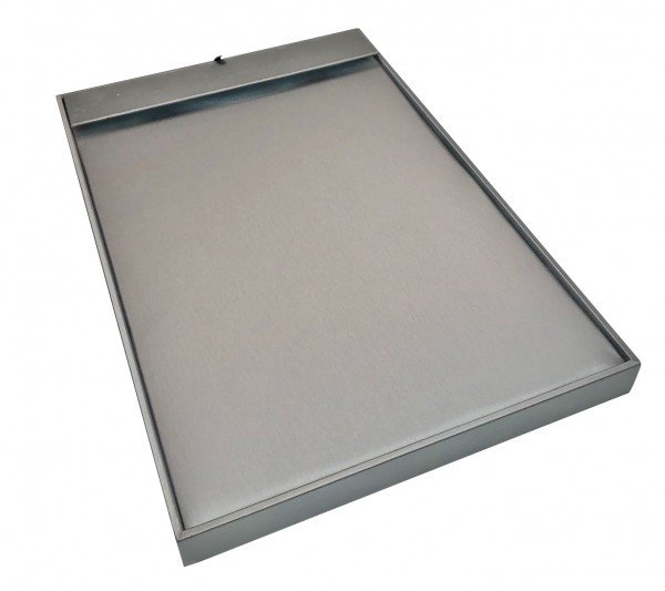 "Steel Grey  16- Chain insert Tray , 11 5/8"" x 2 1/8"" H x 17"""