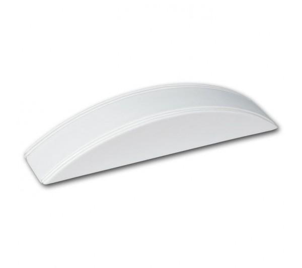 "White Leatherette  1-Bracelet Ramp Display 8 1/8"" x 1 5/8"" x 1 3/8"" H"