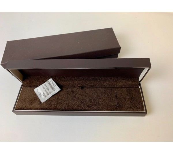 Bracelet/watch box-8 1/2x2 1/8x 1 1/4' Brown
