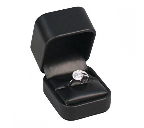 "Austin Collection Ring Box 2"" x 2 3/8"" x 1 3/4"""