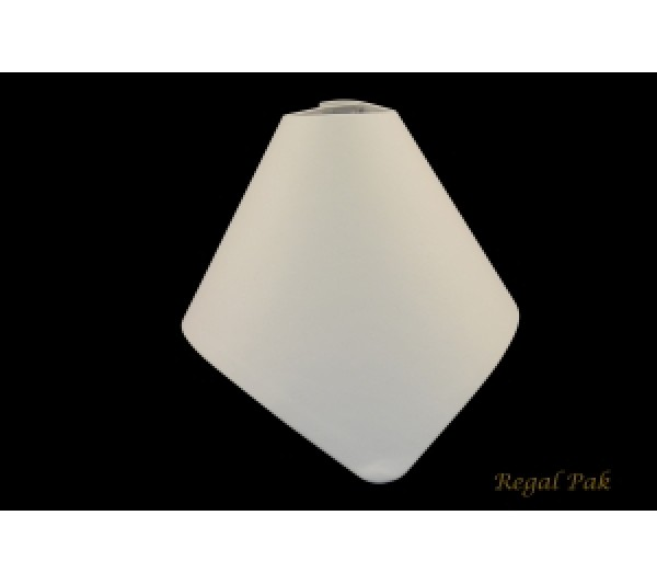 "White Collapsible Bust 7 1/4"" X 8 1/2"" X 4 7/8"""