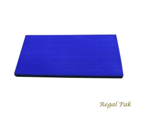 """Full Size Blue Ring Foam Insert (72 Rings) 14 5/16"""" X 7 25/32"""" X 5/8""""H"""