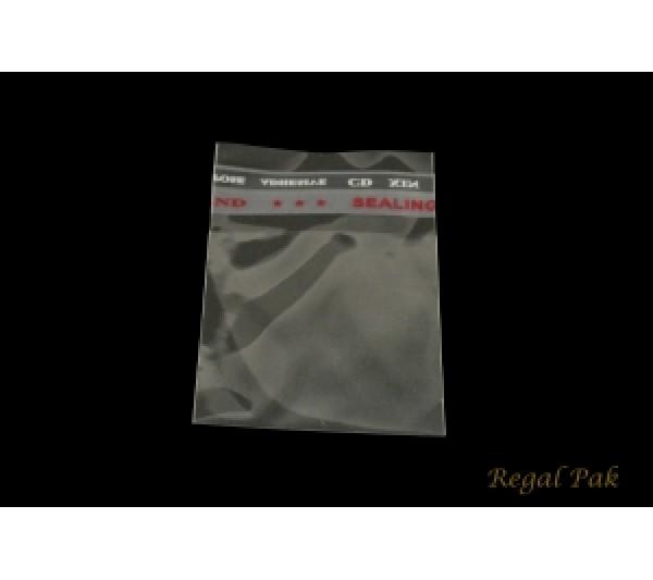 "Ultra Clear Opp Bag W/Self-Adhesive Seal 2"" X 2"""