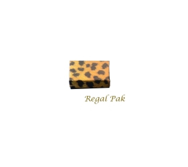 "Leopard Cotton Filled Box -2 1/8""x1 5/8""x3/4""  (100pcs)"