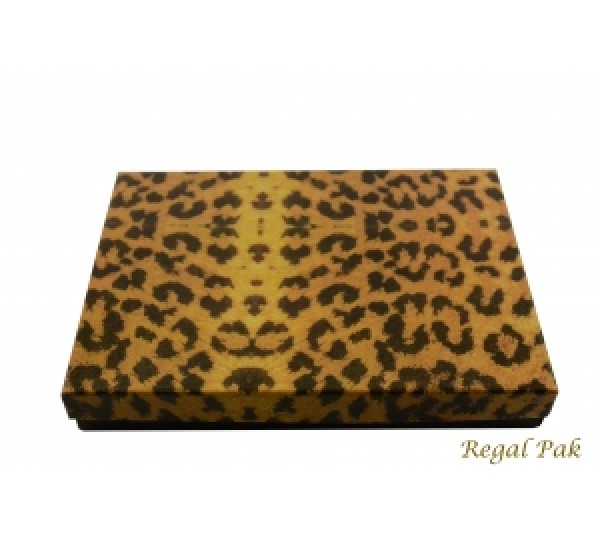 Leopard Cotton Filled Box 7 1/8 (100 pcs)