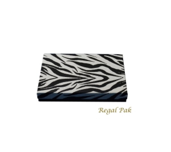 Zebra Cotton Filled Box 8 1/8 (100 pcs)