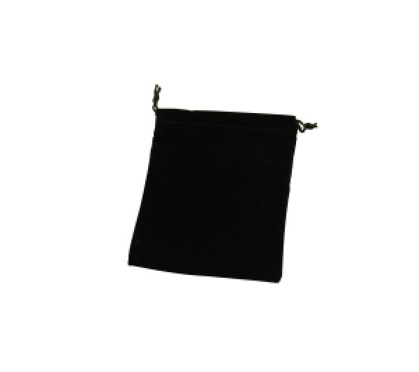 "Zebra Velveteen drawstring pouch 4"" x 5"" one dozen"