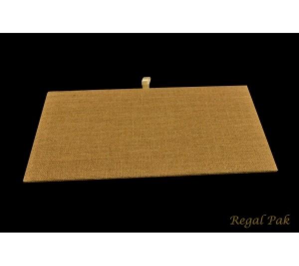 """Full Size Burlap Natrual Tray Pad 14-1/8"""" X 7-5/8"""""""