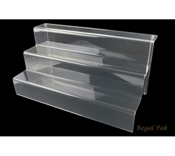"Large Acrylic Stair Display 18"" X 9"" X 9""H"