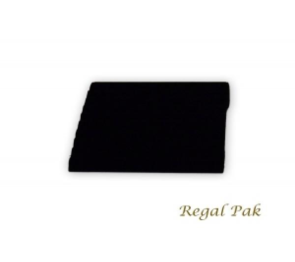 """Black Velvet Slotted Bracelet Ramp 8"""" X 8 3/4"""" X 1 3/4""""H"""