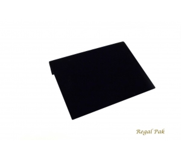 "Large Black Velvet Bracelet Display Ramp 10 1/4"" X 8 1/4"" X 1 7/8""H"