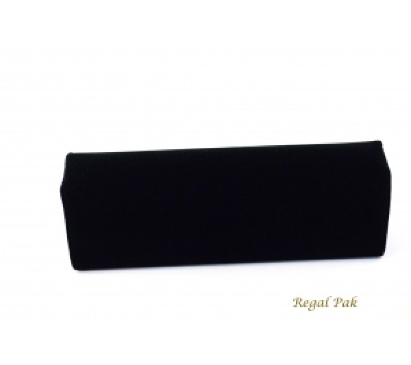 "Black Velvet Cuff Bracelet Display 7 3/4"" X 2 1/2"" X 2 1/8""H"