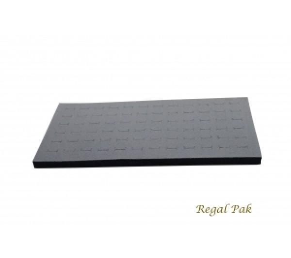 """Full Size Gray Ring Foam Insert (72 Rings) 14-5/16"""" X 7-25/32"""" X 5/8""""H"""