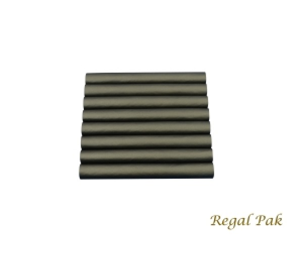"""Black Leatherette Ring Slot Half Size Foam Pad With 8 Sections 7-3/4"""" X 6-3/4"""""""