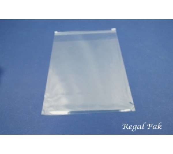 "Ultra Clear Opp Bags With Self-Adhesive Seal (100 Pieces In A Pack) 8"" X 10"""