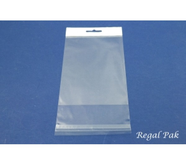 "Clear Opp Bag With Hanging Header (100 Pieces In A Pack) 4"" X 6"""