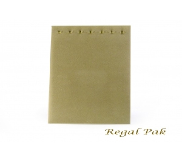 "Beige Color Chain Board With 7 Hooks 7-5/8"" X 14-1/8""H (7-Hook)"