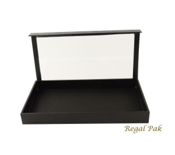 "Full Size Display Case With Detachable Acrylic Lid 14-3/4"" X 8-1/4"" X 1-1/2""H"