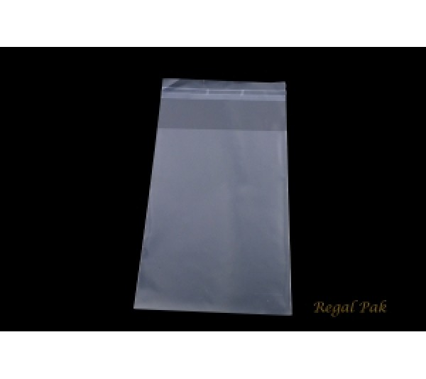 """Ultra Clear Opp Bags With Self-Adhesive Seal (100 Pieces In A Pack) 4"""" X 6"""""""