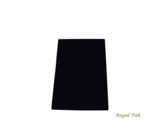 "Large Black Velvet Bracelet Standing Ramp With Easel 4 3/4"" X 5"" X 7 3/8""H"